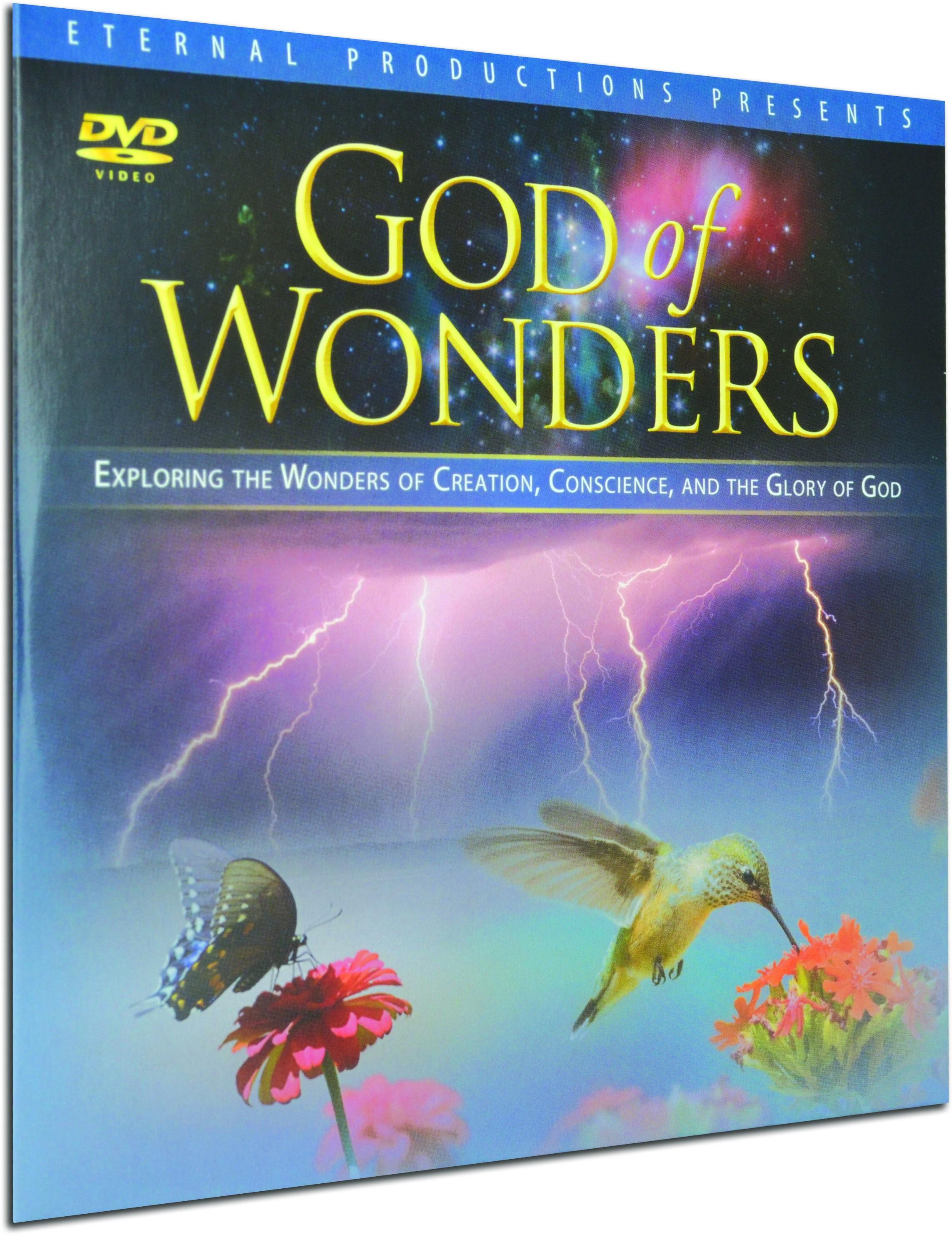 Dvd God of Wonders God of Wonders Ministry