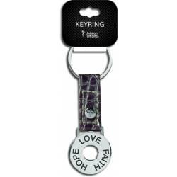 Key Ring - Faith, Hope, Love