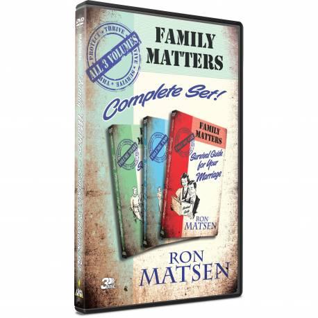 Family Matters (Ron Matsen) 3 DVD SET