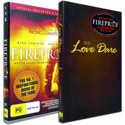The Love Dare + Fireproof (Stephen & Alex Kendrick) BOOK & DVD