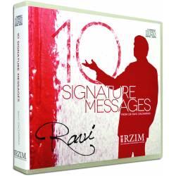 10 Signature Messages (Ravi Zacharias) AUDIO CD (10 discs)