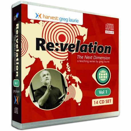 Revelation: The Next Dimension Vol 1 (Greg Laurie) AUDIO CD SET (14 discs)