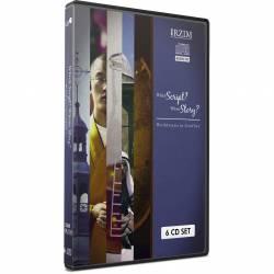 Which Script? Whose Story? (John Lennox, Ravi Zacharias, Stuart McAllister, JT Jeyachandran, & Allison Thomas) AUDIO CD (6 discs