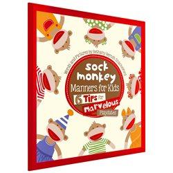 Sock Monkey Manners For Kids