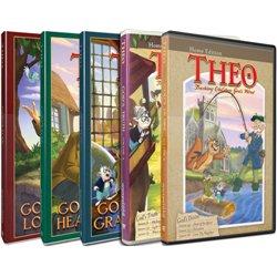 Theo: Teaching Children God's Word Vol. 1-5 (DVD)