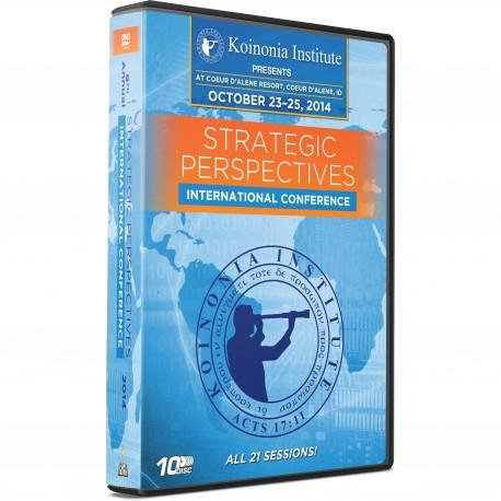 Strategic Perspectives Conference 9 - 2014 (Chuck Missler - Various) DVD SET