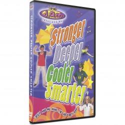 Stronger, Deeper, Cooler, Smarter (J.A.M.) DVD