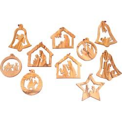 Nativity Christmas Ornament Set
