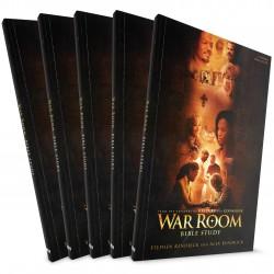 War Room Bible Study Guide (Stephen & Alex Kendrick) 5 PACK