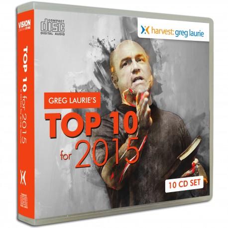 Top 10 - 2015 (Greg Laurie) AUDIO CD SET (10 discs)