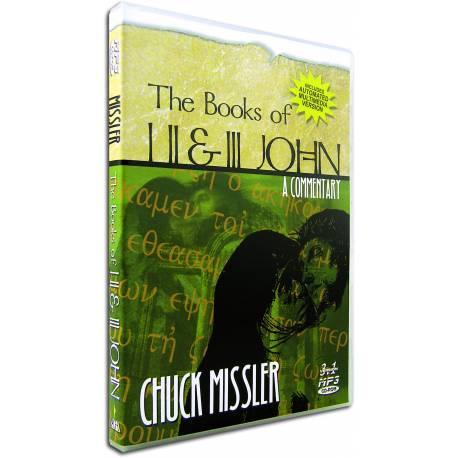 I, II, & III John commentary (Chuck Missler) MP3 CD-ROM (8 sessions)