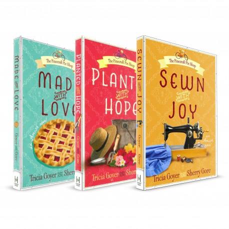 Pinecraft Pie Shop series (Tricia Goyer, Sherry Gore) PAPERBACK x 3