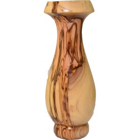 Olive Wood Vase 16cm (Made in Bethlehem)