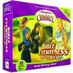 Adventures in Odyssey Bible Eyewitness AUDIO CD set (12 discs)