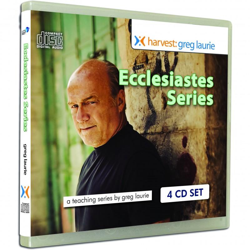 Ecclesiastes Series Greg Laurie 4 Audio Cd Amp 39s