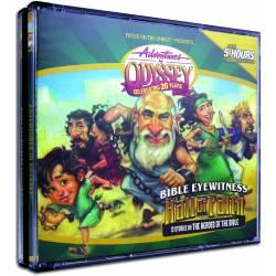 Adventures in Odyssey - Hall of Faith AUDIO CD SET (4 discs)