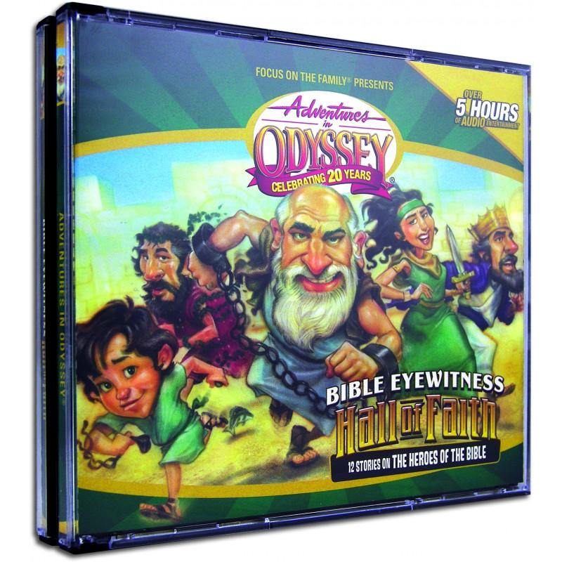 Adventures In Odyssey Hall Of Faith Audio Cd Set 4 Discs