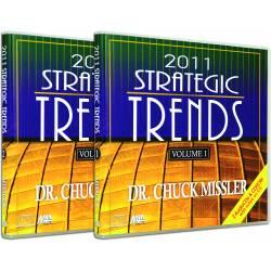 Strategic Trends 2011 (Chuck Missler) AUDIO CD SET