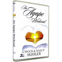 An Agape Weekend (Chuck & Nancy Missler) 3 DVD SET