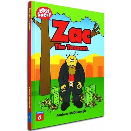 Zac The Taxman (Lost Sheep Series) - HARDCOVER
