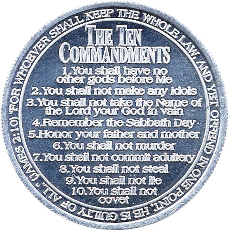 Ten Commandments Coin Pack Of 50