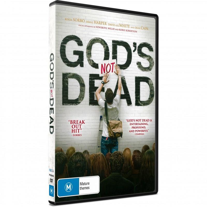 God S Not Dead Movie Dvd