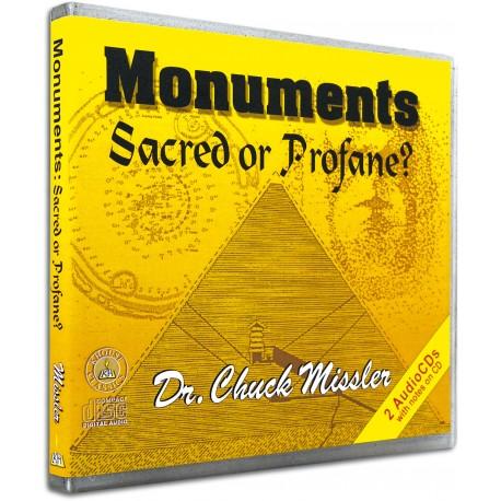 Monuments: Sacred or Profane? (Chuck Missler) AUDIO CD