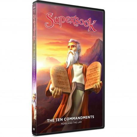 The Ten Commandments (Superbook) DVD