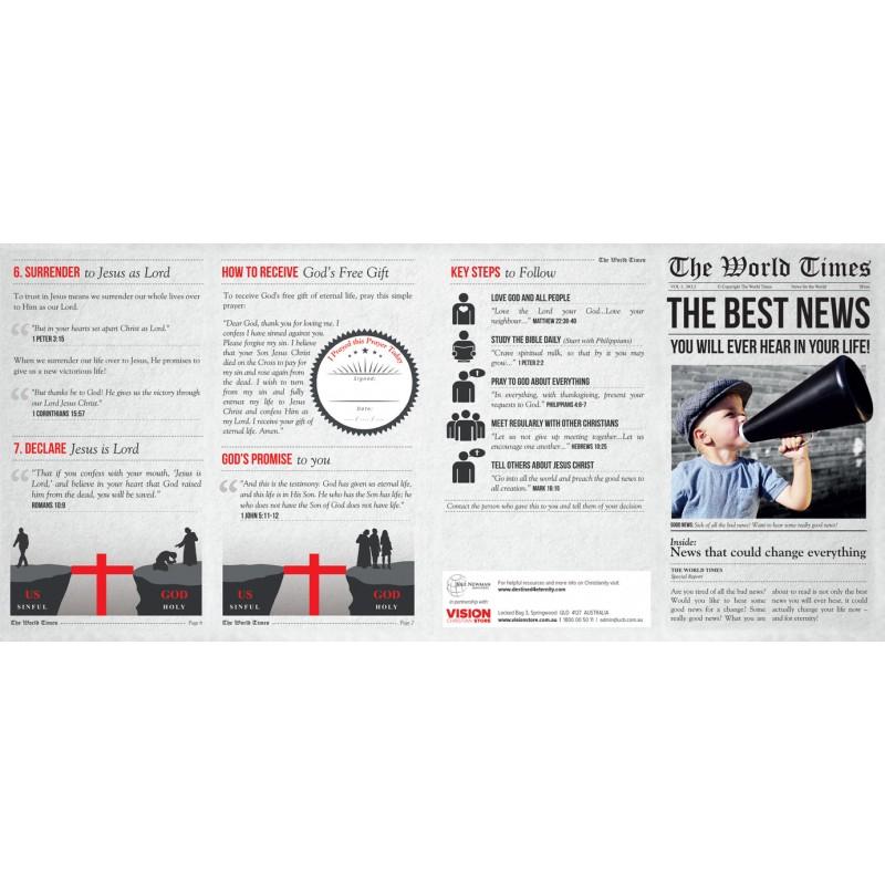 The Best News Gospel Tract