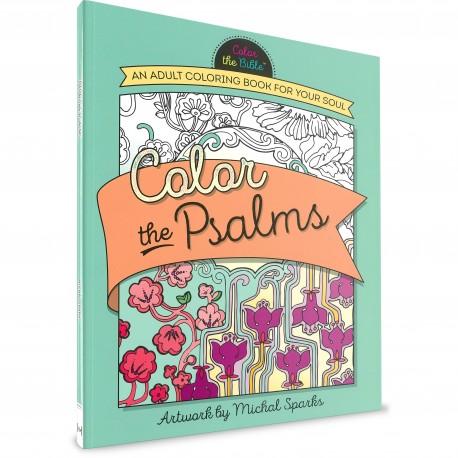 Colour the Psalms (Michal Sparks) PAPERBACK