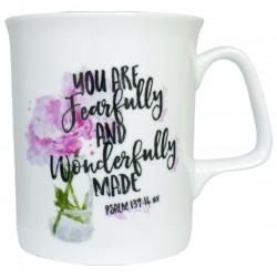 Bone China Mug - Psalm 139:14