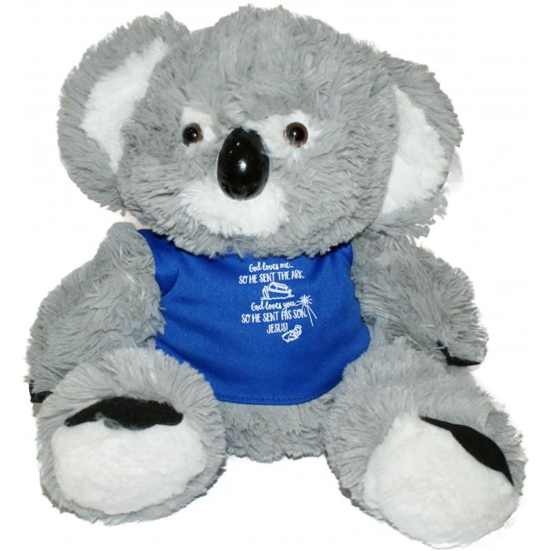 Koala Plush Toy Blue