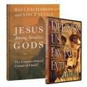 Jesus Among Secular Gods & Deliver Us From Evil Pack (Ravi Zacharias) HARDCOVER & DVD