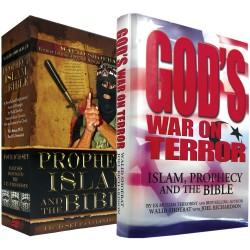 Walid Shoebat Pack 2 HARDCOVER BOOK & DVD SET