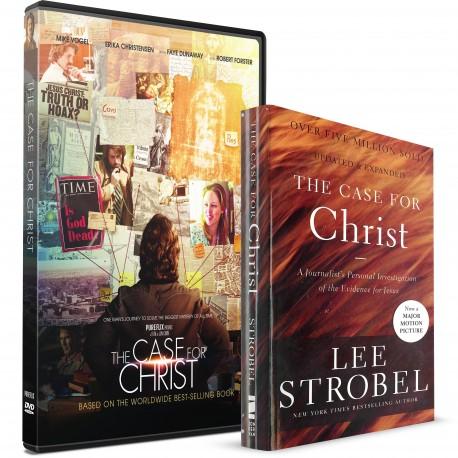 The Case for Christ Pack (Lee Strobel) DVD  PAPERBACK