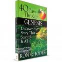 40 Days Through Genesis (Ron Rhodes) PAPERBACK