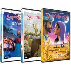 Superbook Pack - Gideon, Elijah and Ruth