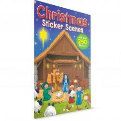 Christmas Sticker Scenes (Juliet David & Nigel Chilvers) PAPERBACK