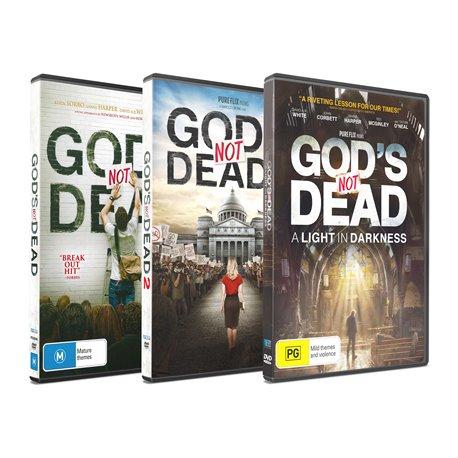 God's Not Dead 1 & 2 Movie Pack