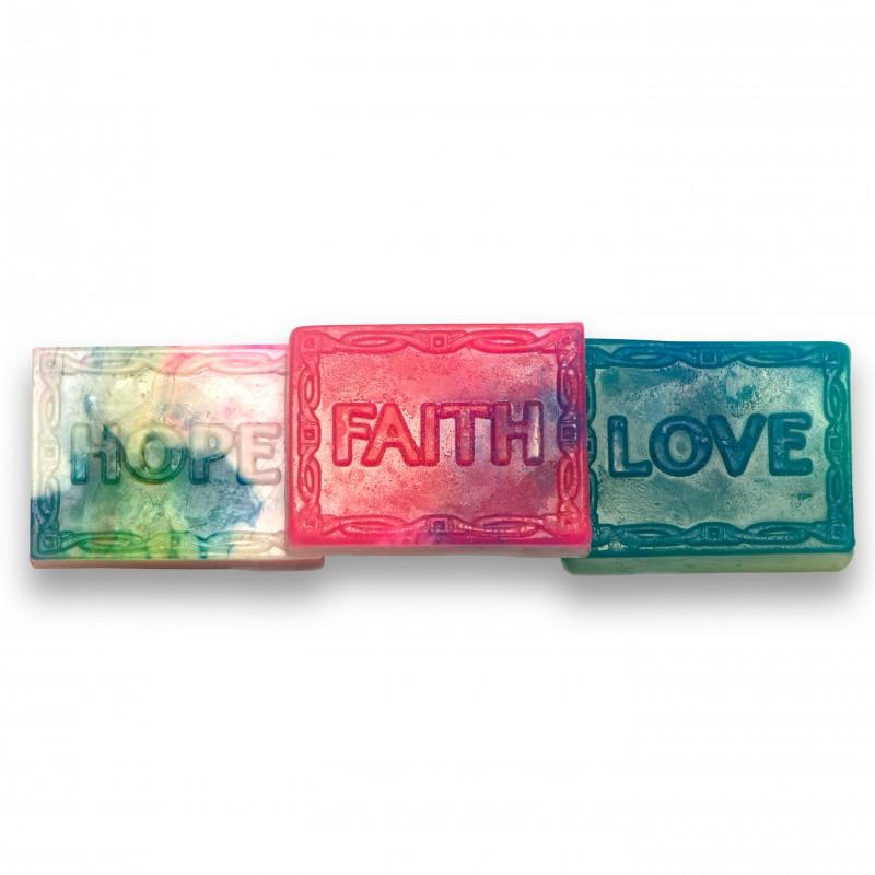 Faith Hope Amp Love Soap Four Fragrance Bundle