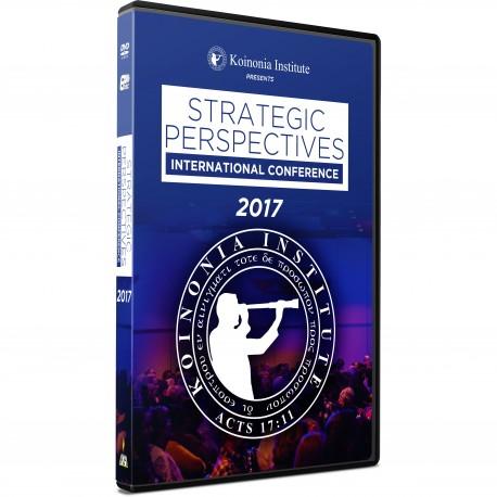 Strategic Perspectives Conference 12 - 2017 (Chuck Missler - Various) DVD SET