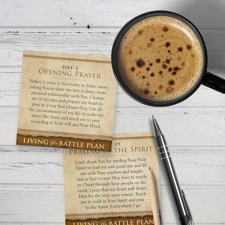 The Battle Plan for Prayer Cards, 40 Pack
