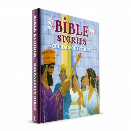Bible Stories for Courageous Girls (Gustavo Mazali) HARDCOVER