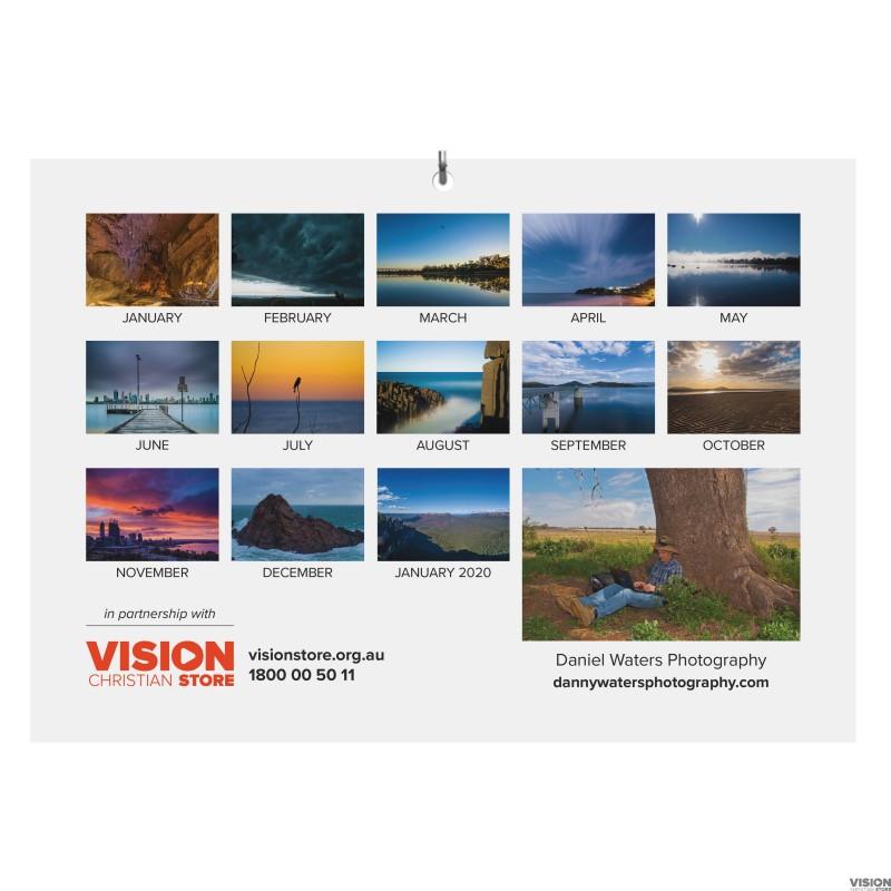 2019 13 Month Australia Photography Calendar