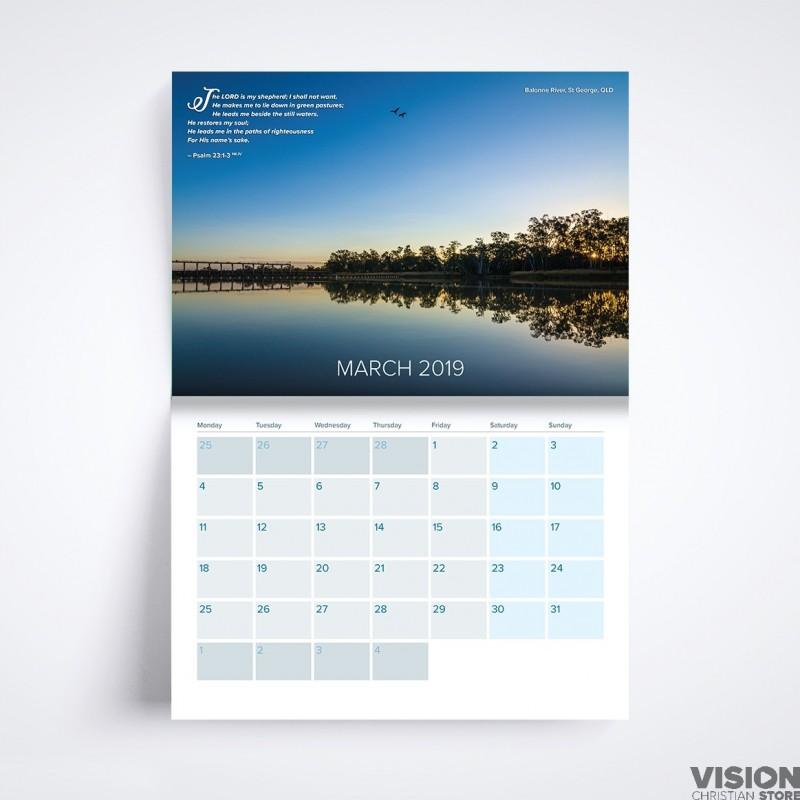 2020 Australian Icons Calendar For Australiana Souvenirs: 13 Month Australia Photography Calendar