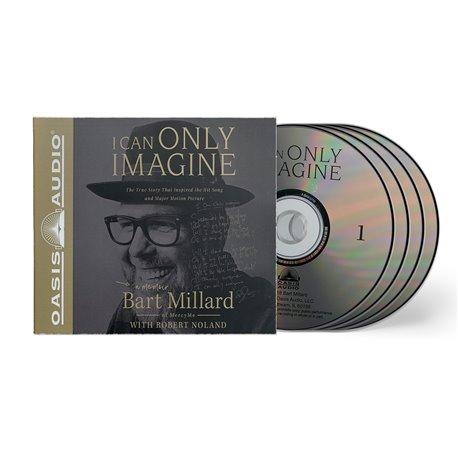 I Can Only Imagine(Bart Millard with Robert Noland) 4 x AUDIO CD