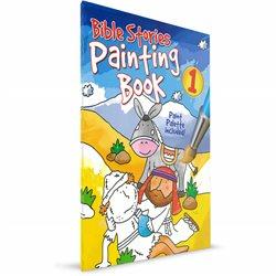 Bible Stories Painting Book 1 (Juliet David/ Simon Abbott) PAPERBACK