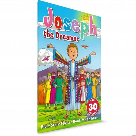 Joseph the Dreamer Sticker Book (Harvest House) PAPERBACK