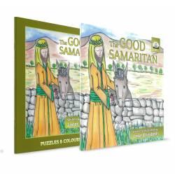 The Good Samaritan Pack (Janet Elizabeth) Story book & Colouring book