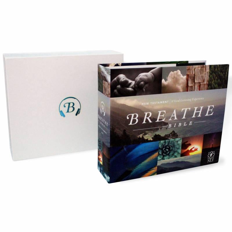 Breathe Audio Bible NLT New Testament (18 CDs)